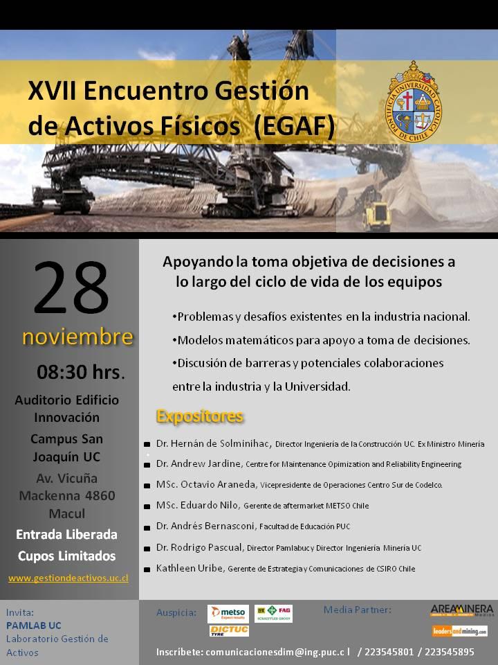 Afiche XVII EGAF