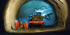 Desarrollo de túneles en el Proyecto Chuquicamata.
