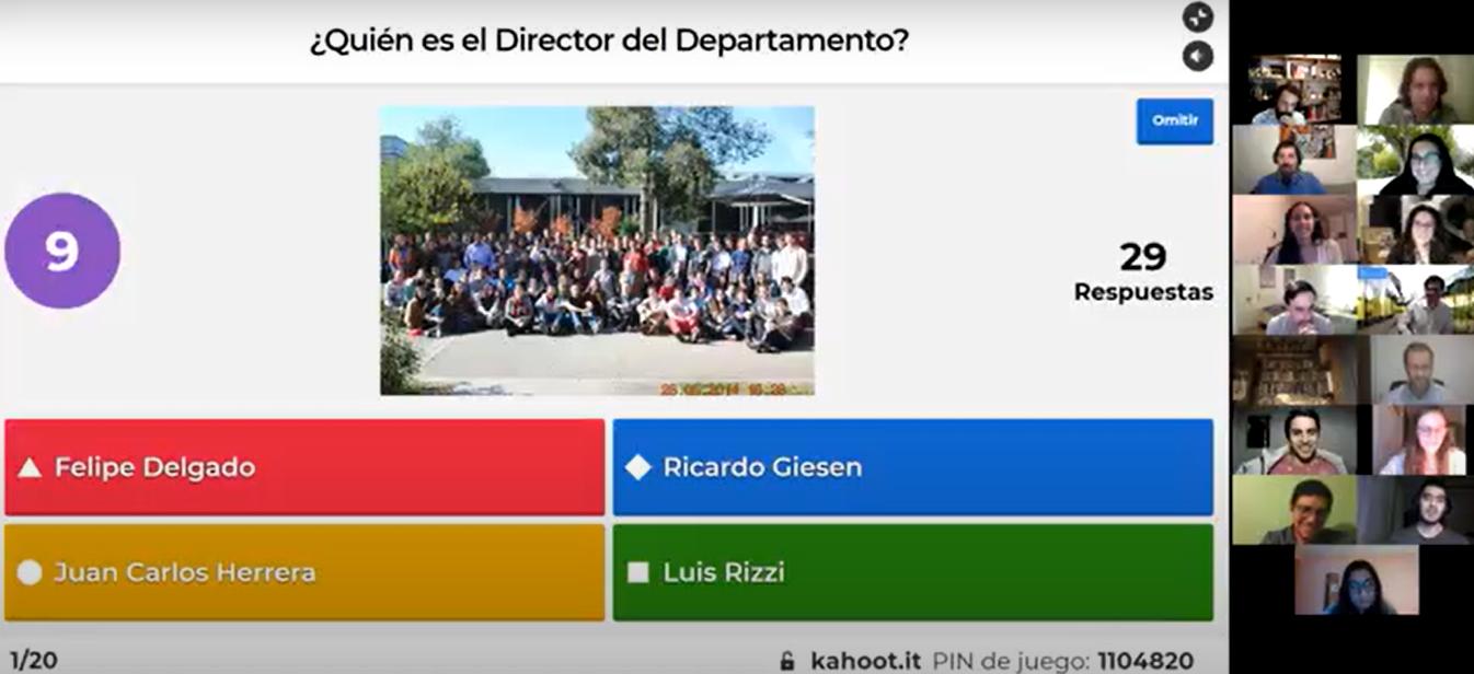 Actividad Encuentro de Titulados DITL 2020