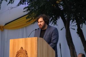 El invitado de honor 2015 fue el emprendedor serial  e ingeniero UC Francisco Larraín.