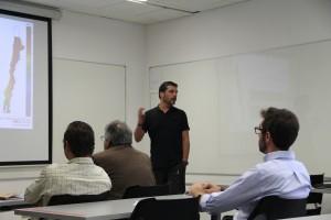 Rodrigo Escobar, profesor del departamento de Ingeniería Mecánica y Metalúrgica.