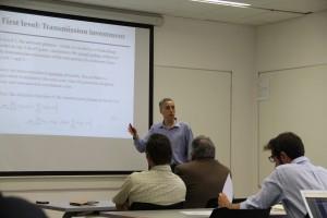 Profesor Enzo Sauma, del del departamento de Ingeniería Industrial y de Sistemas.