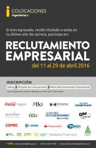18 empresas participarán de la versión 2016.