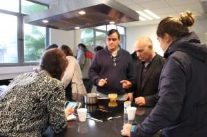 Pere Castells en el departamento de Ingeniería Química y Bioprocesos.