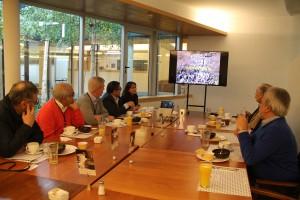 La Subdirección de Ingeniería UC para la Vida es la encargada del relacionamiento con los exalumnos. Durante el desayuno se presentaron los principales avances de la Escuela.
