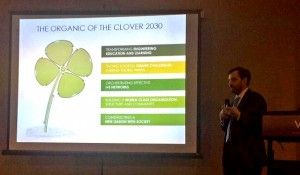 En el evento, el director ejecutivo de Ingeniería 2030, Cristóbal Cheyre, expuso los principales alineamientos del proyecto.