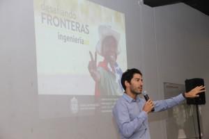 El exalumno Eduardo della Maggiora contó su experiencia en África para invitar a los alumnos a participar del programa.
