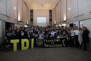 Fotografía final con todos los asistentes al evento.