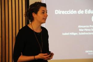 Durante la presentación, Mar Pérez Sanagustín, actual directora de Educación en Ingeniería, destacó la importancia de continuar trabajando en el desarrollo de MOOCs.