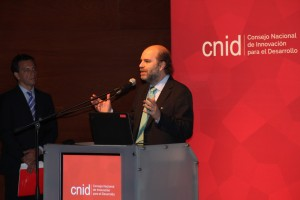 Durante el evento el presidente del CNID Gonzalo