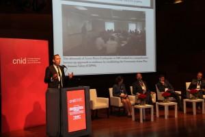 Autoridades y expertos internacionales participaron del encuentro.