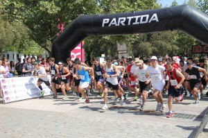 Los JING 2016 se iniciaron con una corrida 5 y 10k en el Campus San Joaquín de la UC.