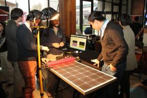 Previo a la premiación en la gran final del programa, los 10 proyectos exhibieron sus prototipos en una feria tecnológica.