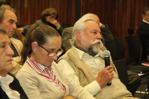 Al final de la charla, los innovadores que asistieron al evento realizaron preguntas.