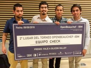 Los alumnos de la Universidad Católica y Universidad de Chile obtuvieron segundo lugar en la competencoa Open Bouchef.
