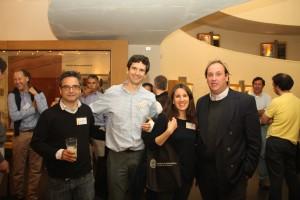 De izquierda a derecha: José Pedro Montt, Felipe Saavedra, Ana María Sepúlveda y Carlos Ossa.