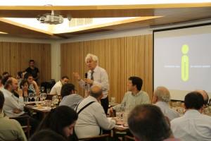 A la reunión asistió además Servet Martínez, consejero del CNID y Premio Nacional de Ciencias Exactas en 1993.