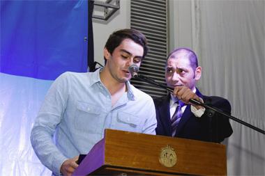 Felipe Quiroz, alumno de ingeniería, fue reconocido como el Mejor Deportista UC 2016.