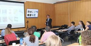 El curso contó con la participación de académicos de Ingeniería UC, quienes además se desempeñan como investigadores en CIGIDEN, entre ellos el decano Juan Carlos de la Llera.