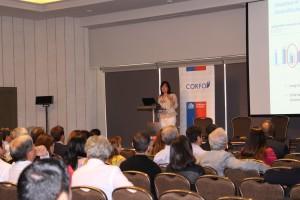 Durante el evento anual Marcela Angulo, gerente de capacidades tecnológicas de Corfo, anunció la incorporación de la Universidad Austral de Chile al programa.