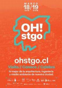 Afiche OH! Stgo