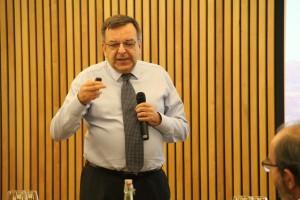 Juan Rada, expuso sobre el Plan Estratégico Solar, el Plan Estratégico Minero y sus interrelaciones.