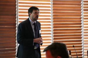 """Rafael Varas, CEO de Lukkap, presentó la charla """"Gestión de carrera:  Tendencias y Oportunidades""""."""