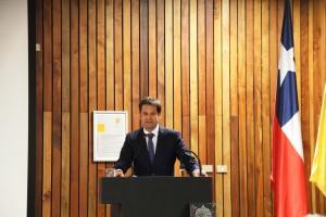 Pedro Bouchon, Vicerrector de Investigación destacó el trabajo de Brain Chile.