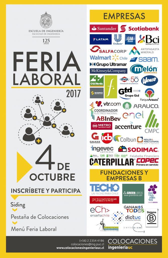 Feria Laboral En Ingenier 237 A Uc Ingenier 237 A Uc