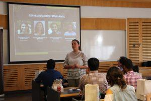 Sofía Lues, consejera académica de Postgrado