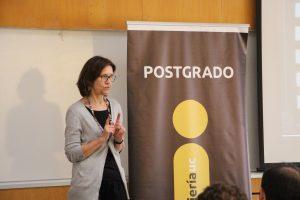 Jani Brouwer, directora de Doctorado y Colegio de Programas Doctorales UC