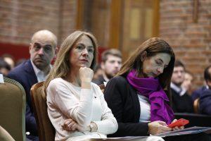 Ministra Susana Jiménez y vicerrectora Paulina Gómez