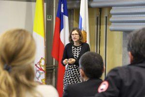 Tiziana Rossetto, directora del EPICentre y académica de UCL