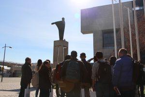Escuela de Invierno en tour por Campus San Joaquín