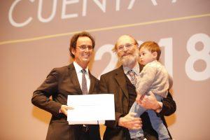 Premio Escuela de Ingeniería entregado a Miguel Nussbaum