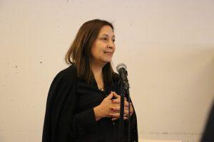 """Discurso artista Liliana Iturriaga en inauguración de exposición """"Sólidos de Revolución"""""""