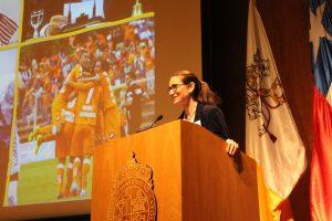 La directora de Investigación e Innovación, María Molinos, en Back to School generación 2003