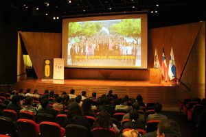 El secretario de FIUC, Fernando Flores, en Back to School generación 2003