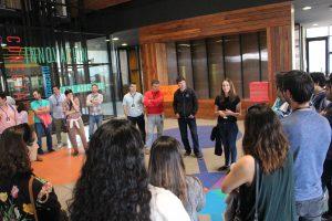 En el Centro de Innovación UC, Anacleto Angelini