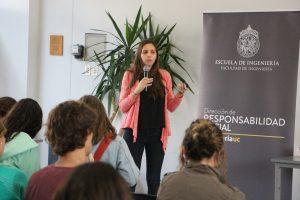 Valentina Achondo en Almuerzos Prácticas Sociales