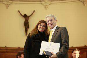 Reconocimiento por 25 años de trayectoria a Ricardo Ranieri, profesor del Departamento de Ingeniería Industrial y de Sistemas