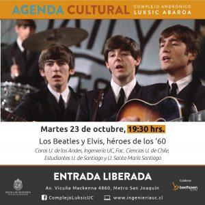 Concierto Coral Los Beatles Y Elvis H 233 Roes De Los 180 60