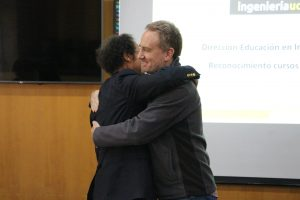 Premiación profesores que participaron en MOOC