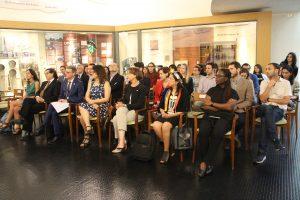 Ceremonia de inauguración contó con la presencia de la ministra Gloria Hutt.