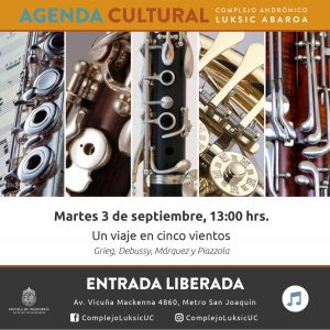 Agenda Cultural Un Viaje En Cinco Vientos Ingenier 237 A Uc
