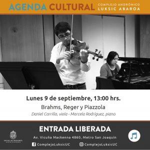 Agenda Cultural Daniel Carrillo Y Marcela Rodr 237 Guez